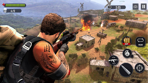 Battleground Fire Cover Strike: Free Shooting Game 2.1.3 screenshots 2