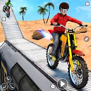 Racing Bike Stunt Games 2021 : Bike Race Game 3D