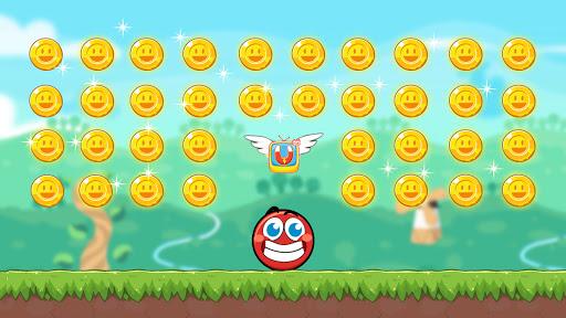 Red Bounce Ball Heroes  screenshots 5