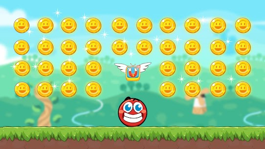 Red Bounce Ball Heroes 5
