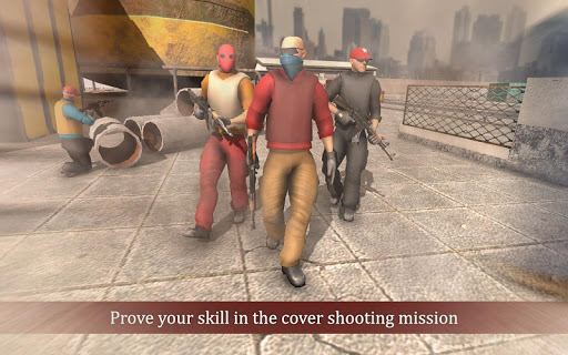 critical cover shootout missions : free games tps screenshot 2