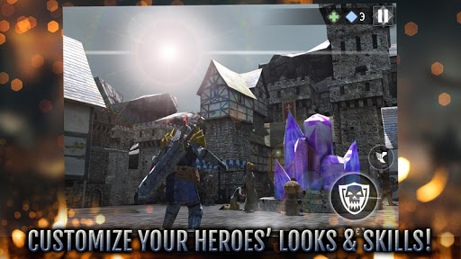 Heroes and Castles 2 - Strategy Action RPG  screenshots 4
