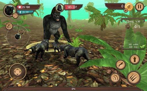 Wild Panther Sim 3D  screenshots 5