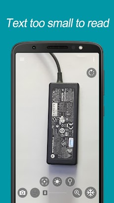 拡大鏡:Smart Magnifierのおすすめ画像3