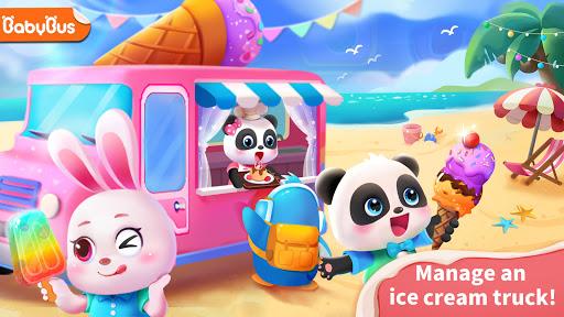 Baby Panda's Ice Cream Truck  updownapk 1