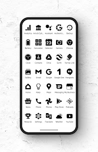 Zwart – Black Icon Pack APK Download for Android 1
