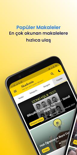 Akademia - Her Gu00fcn Yeni u015eeyler u00d6u011frenin! android2mod screenshots 5