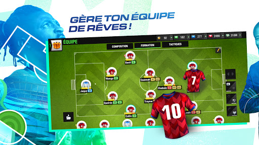 Code Triche Top Eleven 2021 : Deviens un manager de football (Astuce) APK MOD screenshots 3