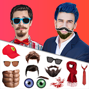 Smarty Men Photo Editor: Hairstyle, Mustache, Suit