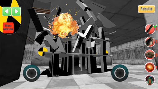 Destroy it all! Physics destruction, Fun Ragdolls 43 screenshots 1