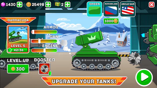 Hills of Steel APK (MOD, Unlimited Coins) for Android 2