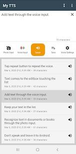 My TTS: Text-to-Speech MOD APK (Premium Unlocked) Download 4