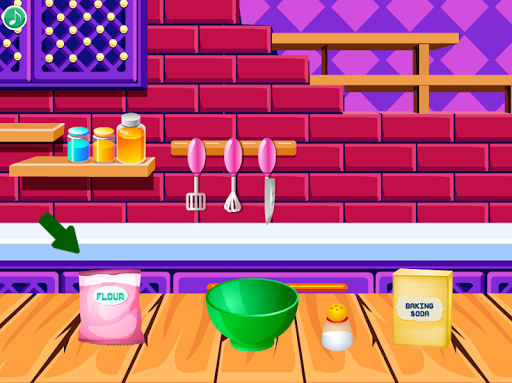 cooking cookies : games for girls screenshot 2