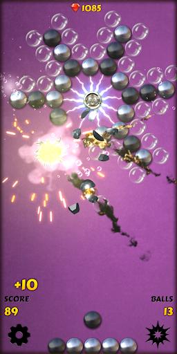 Magnet Balls PRO Free: Match-Three Physics Puzzle screenshots 2