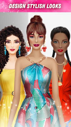 International Fashion Stylist - Dress Up Games  screenshots 1