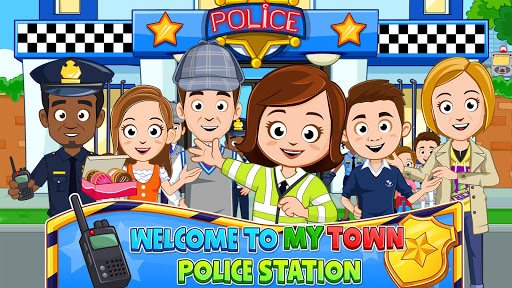 My Town : Police Station. Policeman Game for Kids screenshots 1