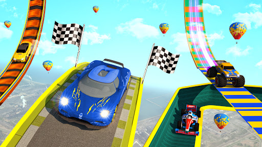 Superhero Mega Ramps: GT Racing Car Stunts Game 1.15 Screenshots 3