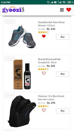 Gyoozi - Online Shopping Easy  screenshots 1