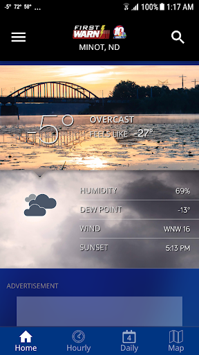 KMOT-TV First Warn Weather 4.10.1700 Screenshots 1