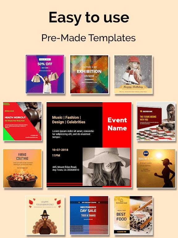 Social Media Post Maker, Planner, Graphic Design  poster 8