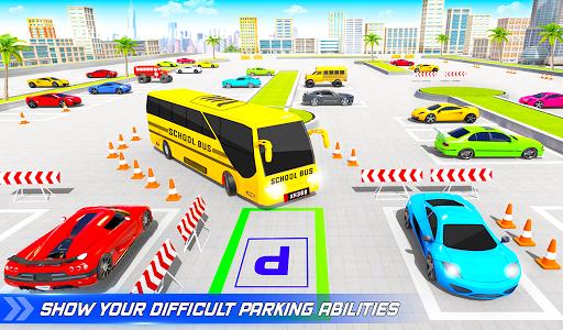 School Bus Driving Simulator Bus Parking Games 20 Screenshots 13