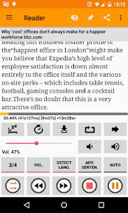 Talk Text (Read Aloud) Mint [Premium] Apk 1