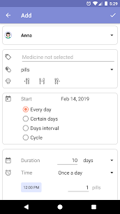 Mr. Pillster pill box & pill reminder tracker rx v2.3.2 [Pro] 2