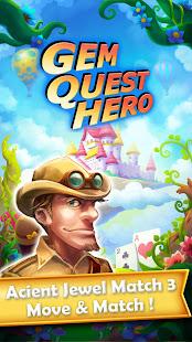 Gem Quest Hero 2 - Jewel Games Quest Match 3