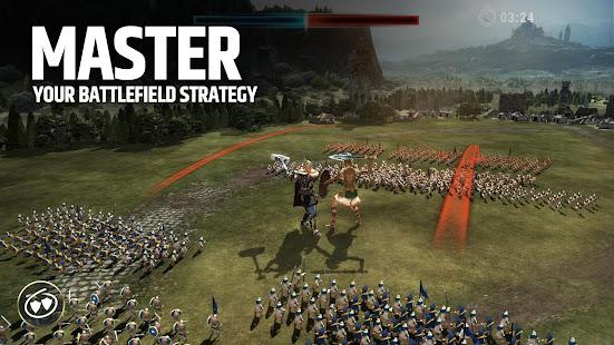 Dawn of Titans: War Strategy RPG Mod Apk