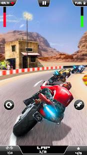 Thumb Moto Race - New Bike Race Games 2021