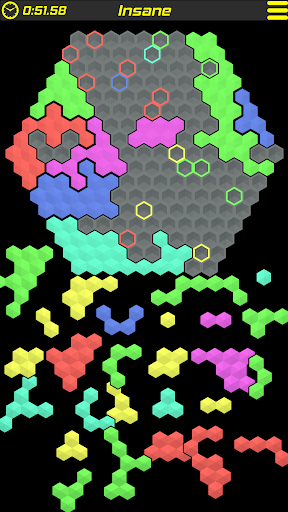 crypthex - uniquely challenging hex puzzle screenshot 1