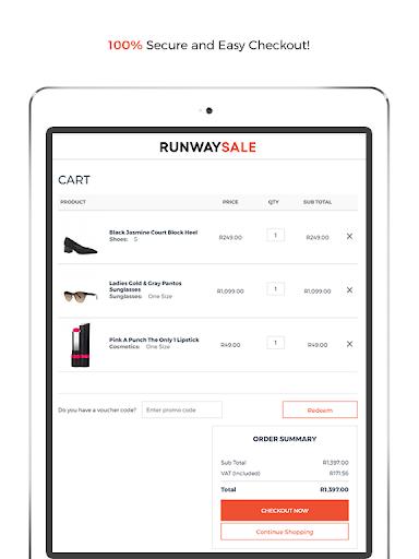 RunwaySale modavailable screenshots 9
