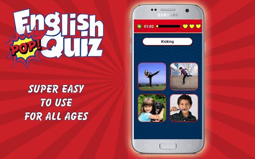 english vocabulary pop quiz screenshot 3