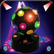 Disco lights flashlight