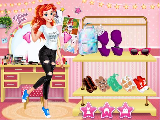 Princess College Dress up Game android2mod screenshots 2