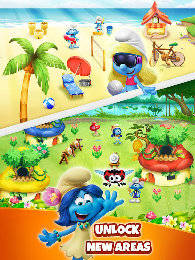 Smurfs Bubble Shooter Story modavailable screenshots 9
