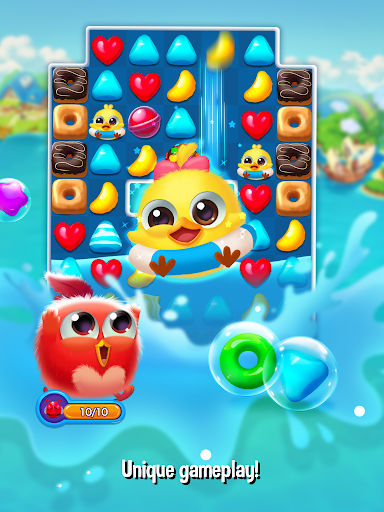 Bird Friends : Match 3 & Free Puzzle modavailable screenshots 15