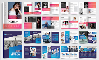 Brochure Maker, Pamphlets, Infographic Designer