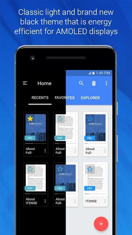 FullReader - all e-book formats reader  poster 1