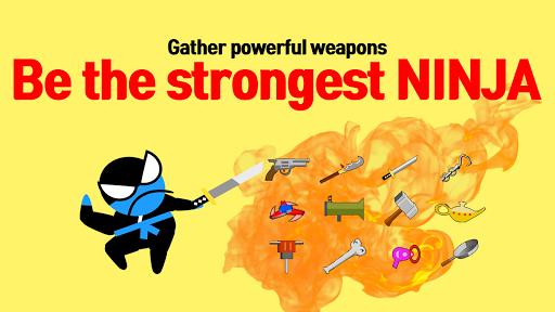 Jumping Ninja Battle - Two Player battle Action 3.98 screenshots 16