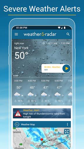 Weather & Radar USA - Storm alerts  Screenshots 5