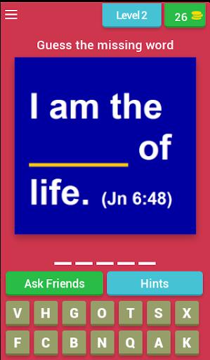 Bible Verse Quiz (Bible Game) apkmr screenshots 2