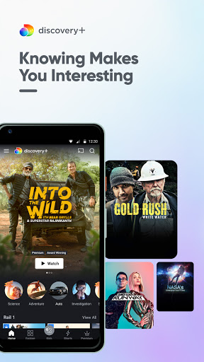 discovery+ for Android TV  screenshots 1