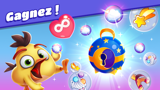 Angry Birds Dream Blast - Toon Bird Bubble Puzzle Capture d'écran