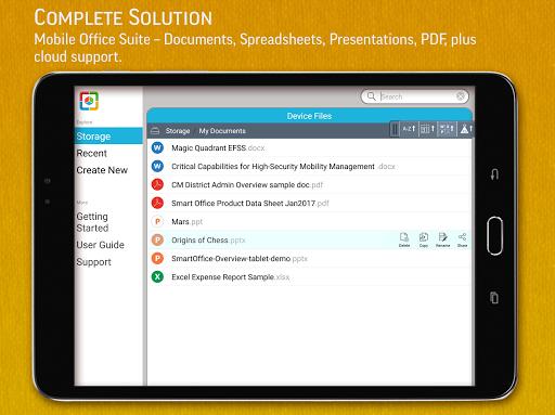 SmartOffice - View & Edit MS Office files & PDFs 3.9.10 Screenshots 9