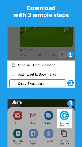 Download Twitter Videos - Twitter video downloader 1.0.35 Screenshots 3