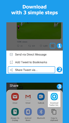 Download Twitter Videos - Twitter video downloader poster