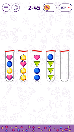 Bubble Sort Color Puzzle Game 1.3.9 screenshots 4