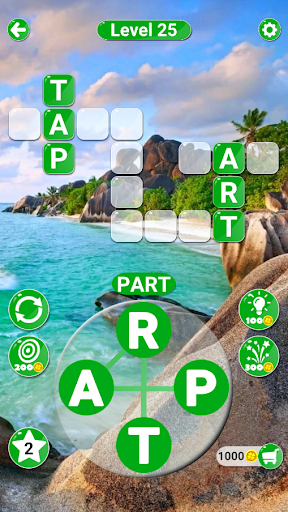Around the Word: Crossword puzzle modiapk screenshots 1