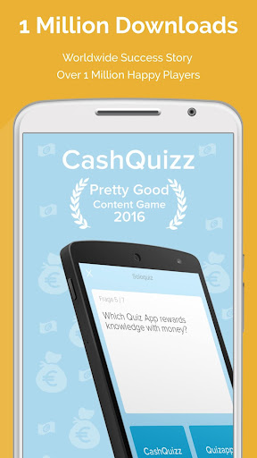 CASH QUIZZ REWARDS: Trivia Game, Free Gift Cards 3.2.18 screenshots 6